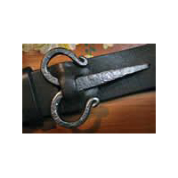 A Viking Belt Buckle- Iron
