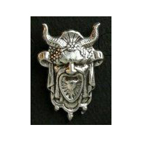Cernunnos or Hern the Hunter Pewter Pin
