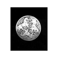 Celtic Horse Brooch - Solid Pewter