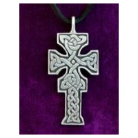 Fahan Mura Cross -  Solid Pewter
