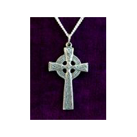 Double-sided Celtic Cross - Solid Pewter