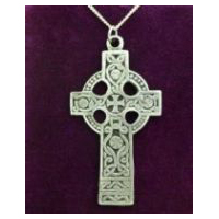 Extra Large Celtic Cross - Solid Pewter