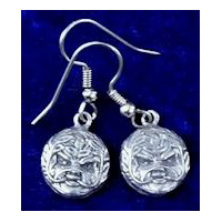 Greenman Pewter Earrings