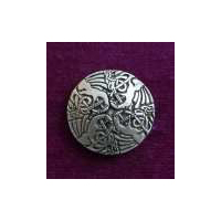 Celtic Crane Buttons (Card of 4) 15/16""