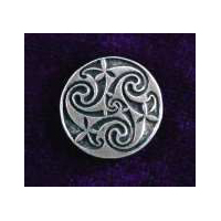Mystical Spiral Buttons-Card of 4