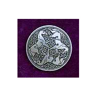 Celtic Horse Buttons-Card of 4