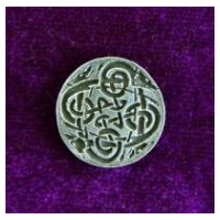 Celtic Canines Buttons- Card of 4