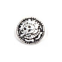 Trollkjerring - Troll Girl Pewter Button - 18mm - 11/16""