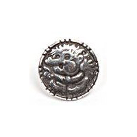 Trollgubbe - Troll Boy Pewter Button - 18mm - 11/16""