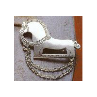 "Pewter Brosje Hest Stor ""Big Horse"" Pewter Viking Brooch"