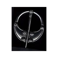 Medium Pewter Viking Brooch
