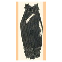1917 Evening Cape Pattern