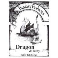 Whimsical Sewing Projects - Dragon and Baby (Fairy Tale Series) Pattern