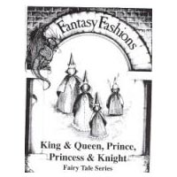 Whimsical Sewing Projects - King, Queen, Princess and Knight (Fairy Tale Series) Pattern.