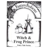 Whimsical Sewing Projects - Witch and Frog Prince (Fairy Tale Series) Pattern