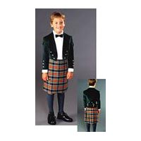 Child's Scottish Kilt & Jacket Pattern