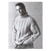 Knitting Instructions for Turtleneck Sweater