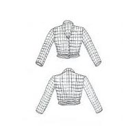 Instructions for Knitted Cardigan Jacket