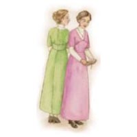 1910's Kimono Sleeve Jumper Dress and Blouse Pattern