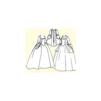 1750's - 1770's Pet-en-l'air or Robe � la Fran�aise Pattern