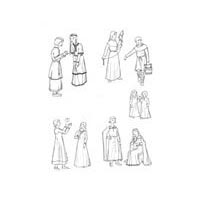 11th to 14th Century - Children of Medieval Times Pattern