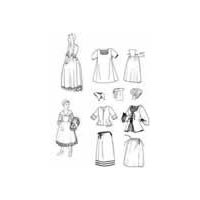 1675 - 1760 New France Girls Pattern