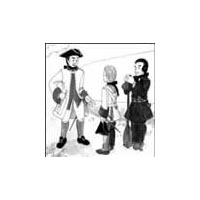 1700's Justacorps (Military Coat) and Capote (Canadian Hooded Coat) Pattern