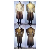 1890's Ladies' Sporting Costumes with Leggings Pattern