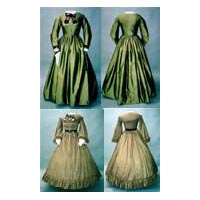 1860's Day Dress Pattern