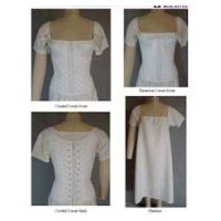 1805-1840 Ladies Regency and Romantic Era Corded Corset with Theatrical Version Corset and Chemise Pattern