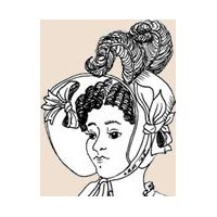 1819-1834 Fashionable (Poke) Bonnet Pattern
