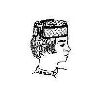 1840's to 1880s Gentlemen's Lounging Cap Pattern by Miller's Millinery