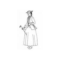 1740-1780 Riding Habit Pattern