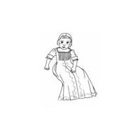 Infant Gown with Shirt and Petticoat Instructions Pattern