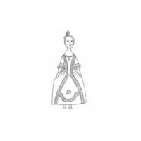 18th Century Fashion Doll Pattern