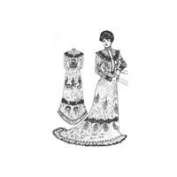 1900 Dinner or Reception Gown Pattern