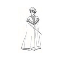 1900 Ladies Cloak Pattern
