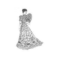 1890's  Tea Gown Pattern