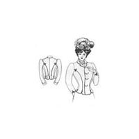 1899-1900 Double Breasted Dress Jacket Pattern