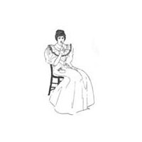 1894 Butterick Pattern Company Tea Gown or Wrapper