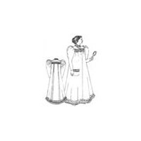 1893-1897 Night Gown Pattern