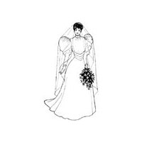 1893 Wedding Gown Bodice Pattern