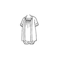 1920 Child's Dress with Bloomers Pattern