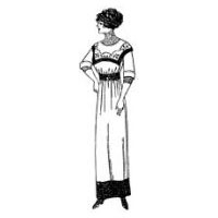 1910 Ladies' Costume Pattern