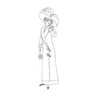 1911-1912 Ladies' Long Coat Pattern