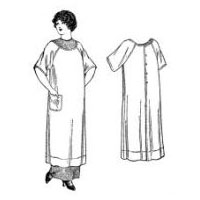 1911-1914 Ladies' and Misses' Apron Pattern