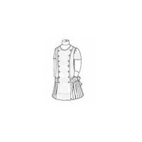 1910 Girls' Princess Dress Pattern