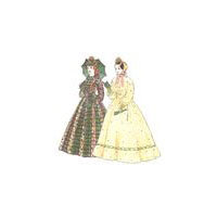 1858-1862 Fashionable Skirts Pattern