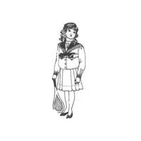 1908 Girl's Sailor Suit Pattern