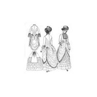 1880's Polonaise and Walking Skirt Pattern